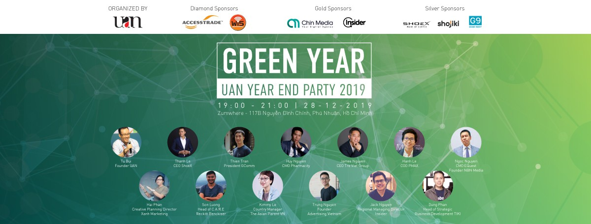 [HCM]  UAN YEAR END PARTY 2019 - GREEN YEAR